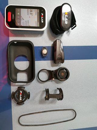 polar V650 más soporte y sensores