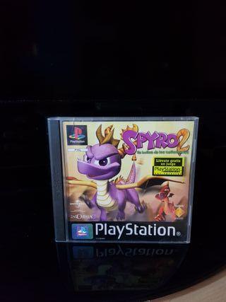 Spyro 2 En busca de los talismanes. Ps1