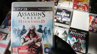 Juego Assassins Creed Brotherhood Ps3