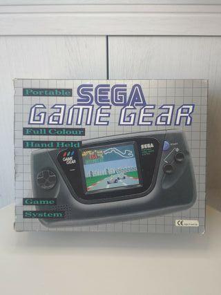 consola sega Game gear completa en muy buen estado