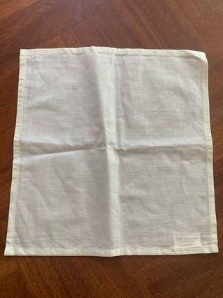10 servilletas de algodón 100% de la India