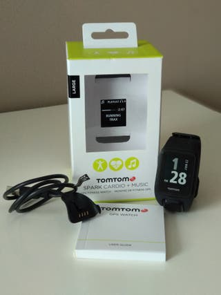 Pulsómetro TomTom Spark Cardio+Music