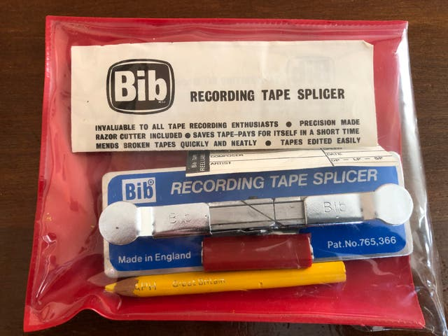 Original Bib Recording Tape Splicer Kit