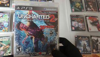 Juego Uncharted 2 de Ps3