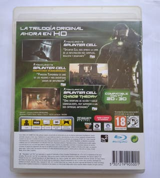 Splinter Cell Trilogy PS3