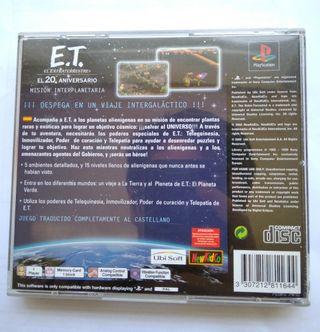 E.T El Extraterrestre PSX