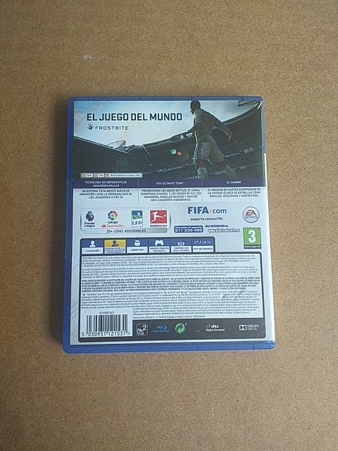VIDEOJUEGO PARA PS4 FIFA 18