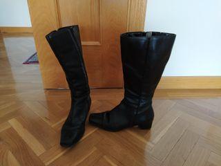 Botas Altas negras (piel)