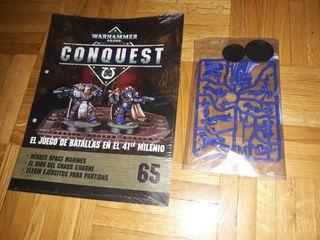 Warhammer 40000 conquest 40k N 65 capitanes marine