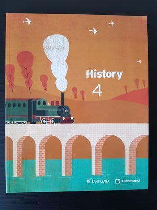 Libro Historia Santillana 4 ESO NUEVO