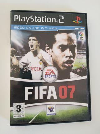 FIFA 07 2007 Playstation 2
