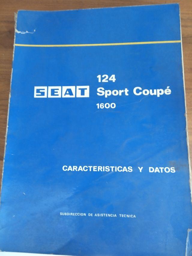 manual de reparación de Seat 124 sport