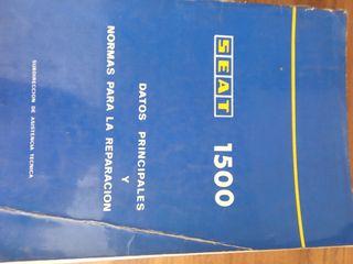 manual de taller para reparaciones de Seat 1500