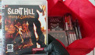 Juegos Ps3 Silent Hill y Siren Blood Curse