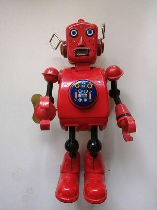 ROBOT HOJALATA JUGUETE