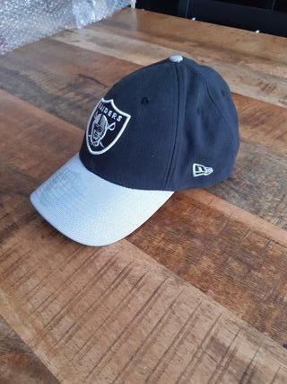 Gorra NFL de los Raiders