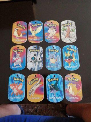 Chapas de pokemon