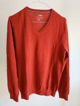 Jersey rojo algodón