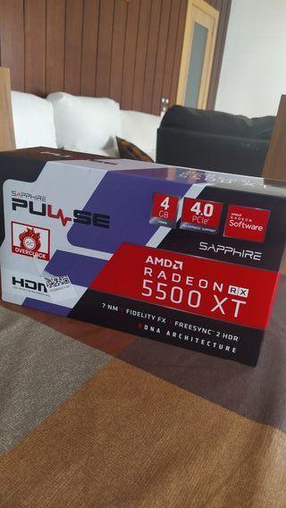 Radeon 5500 xt Tarjeta Gráfica