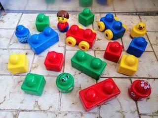 Lote construcciones LEGO duplo