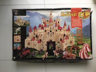 Gran castillo medieval de exin