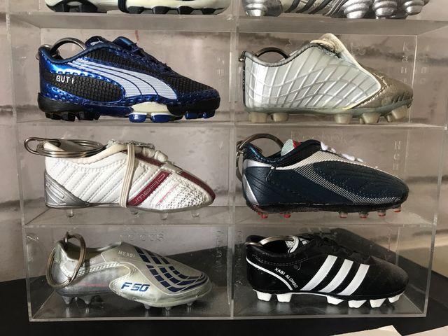 Colección llaveros fútbol