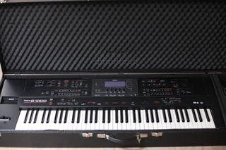 SINTETIZADOR ROLAND G-1000 teclado 6 escalas