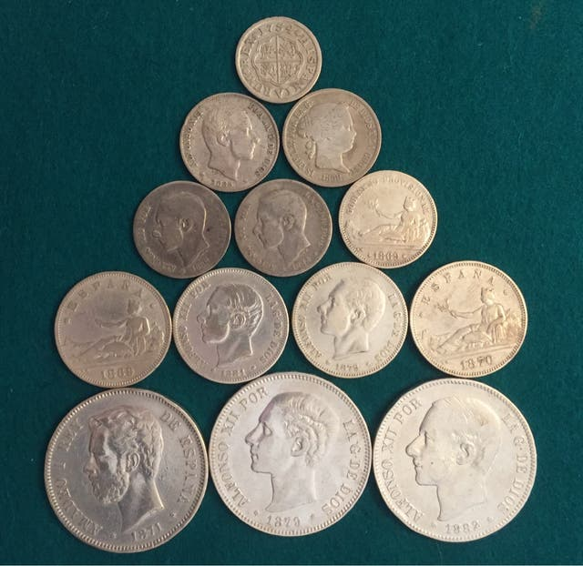 Monedas de Plata gran oferta lote