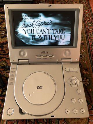 Reproductor de DVD portatil Airis LW 257