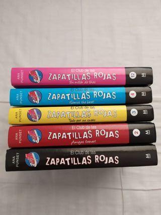 Libros El club de las zapatillas rojas
