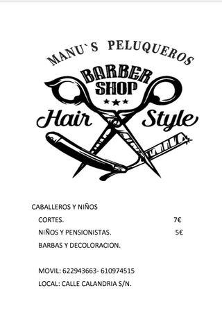 manu's peluqueros