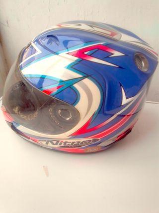 casco de moto integral NITRO