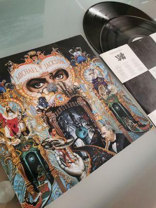 disco de vinilo de Michael Jackson