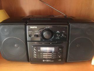 Radiocassete portátil cd , cintas, radio