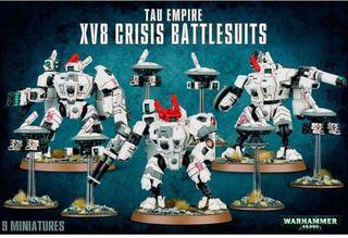 Tau XV8 crisis