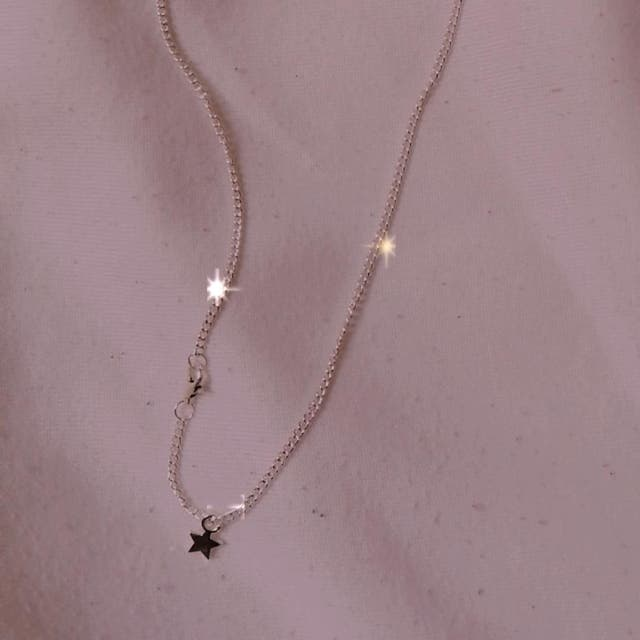 Star plated necklace