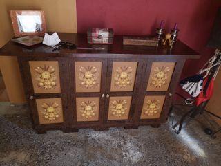 Mueble almacenaje antiguo