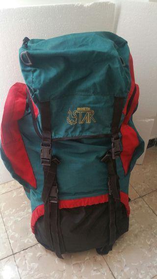 mochila grande montaña