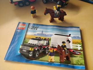 Lego 7635, 4WD and Horse Trailer (version inglesa)