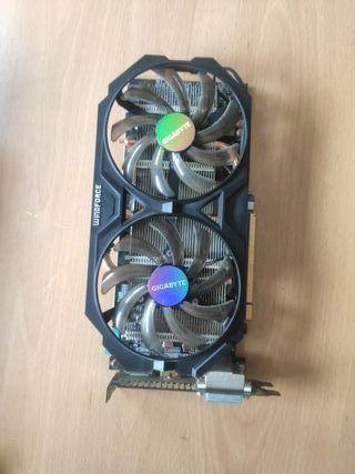 Tarjeta gráfica AMD Radeon R7 Series 300 2Gb DDR5