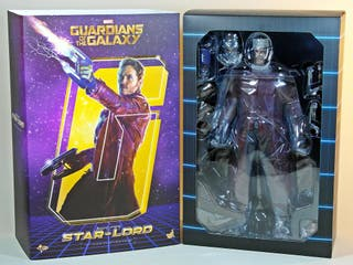 Figura Star-Lord Hot Toys Guardianes Marvel