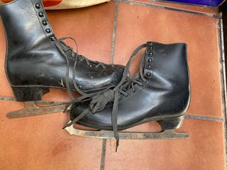 Patines doble hielo