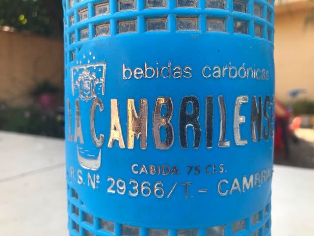 La Cambrilense sifon vintage