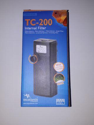 Filtro acuario TC-200 NUEVO