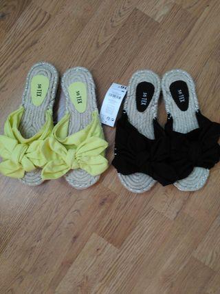 2 sandalias nuevas
