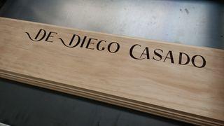 grabado láser madera