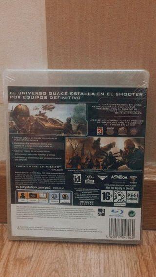 juego ps3 quake wars