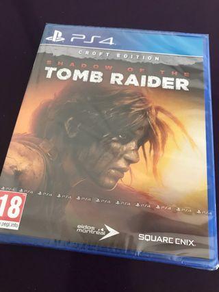 Shadow of The tomb raider edición croft ps4