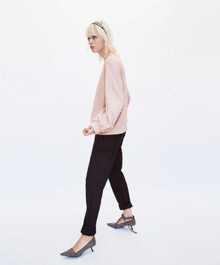 Sudadera perlas Zara!!!
