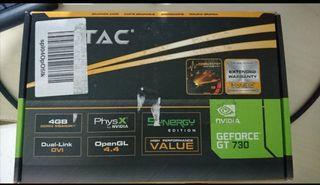 Tarjeta Gráfica Gaming NVIDIA GT730 4Gb